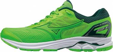the best attitude 1a276 b7a84 Mizuno Wave Rider 21 Green Men