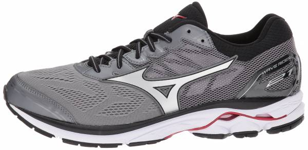 separation shoes ae0d2 823fb Mizuno Wave Rider 21 Quiet Shade Silver