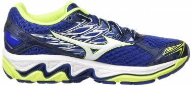 Mizuno Wave Paradox 4 - Blue Bluee Deptths White Safety Yellow (J1GC174002)