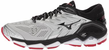promo code 8e81a 700e5 Mizuno Wave Horizon 2 silver black Men