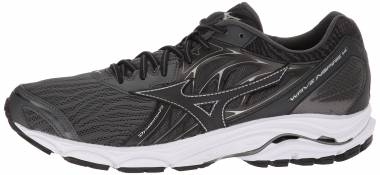 finest selection ec721 33ef8 Mizuno Wave Inspire 14 Dark Shadow Black Men