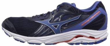 Mizuno Wave Inspire 14 Evening Blue/Cherry Tomato Men