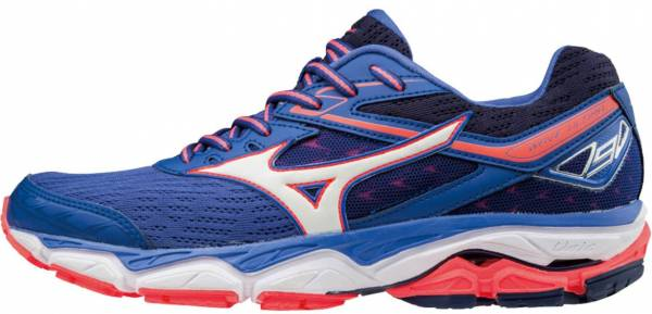 Mizuno Wave Ultima 9 bleu/blanc/corail flash