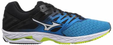Mizuno Wave Shadow 2 Peacock Blue/Teaberry Men