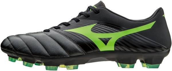 Mizuno Basara 101 K-leather Firm Ground - black/greengecko
