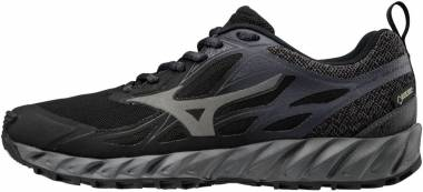 Mizuno Wave Ibuki GTX Black (Black/Metallic Shadow/Magnet 49) Men