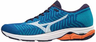 Mizuno WaveKnit R2 - Peacock Blue / White (J1GC182907)