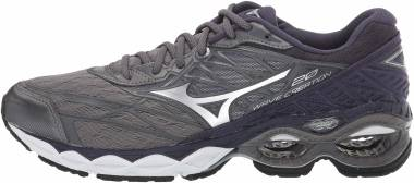 Mizuno Wave Creation 20 - Stormy Weather-silver (4110609J73)