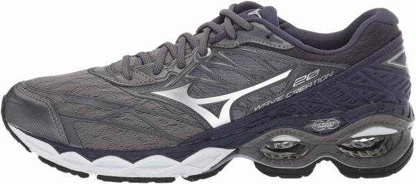 Mizuno Wave Creation 20 - Stormy Weather Silver