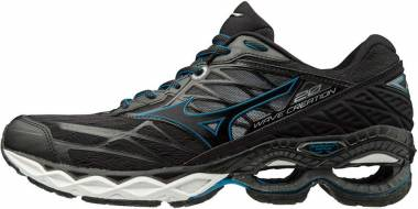 Mizuno Wave Creation 20 Black (Black/Black/Blue Jewel 09) Men