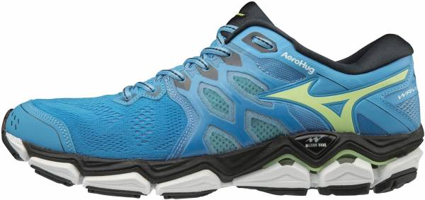 Mizuno Wave Horizon 3 Azure Blue / Sharp Green / Black