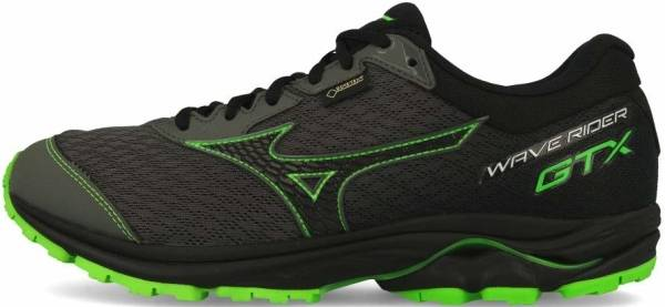 Mizuno Wave Rider GTX - Grey/Black/Green