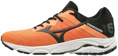 Mizuno Wave Inspire 16 - Orange Salmon Buff Blk Melon 11 (4111601590)