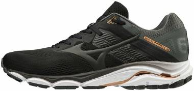 Mizuno Wave Inspire 16 - Black Blk Blk Shadow 09 (J1GC204409)