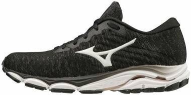 Mizuno Wave Inspire 16 Waveknit - Black/White (4111719000)