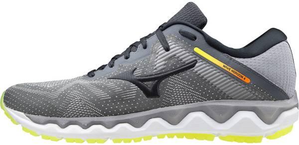 Black Sports Mizuno Mens Wave Horizon 4 Running Shoes Trainers Sneakers
