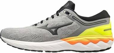 Mizuno Wave Skyrise - Frost Gray / Phantom / Yellow (J1GC200916)