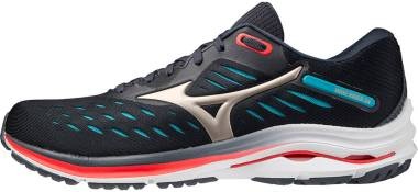Mizuno Wave Rider 24 - India Ink / Platinum Gold / SBlue (J1GC200342)