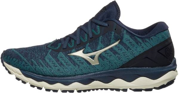 Mizuno Wave Sky 4 Waveknit - Blue (4112205P5P)