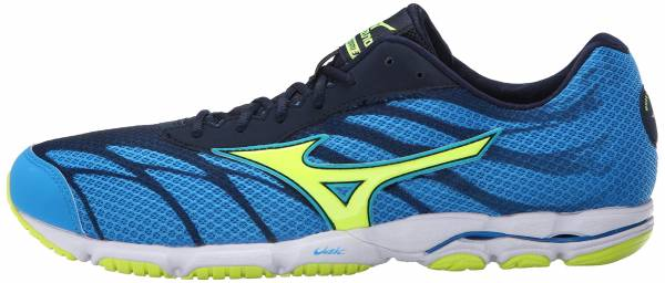 Mizuno Wave Hitogami 3 men dude blue/safety yellow