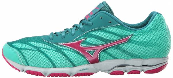 Mizuno Wave Hitogami 3 woman atlantis/carmine rose/harbor blue