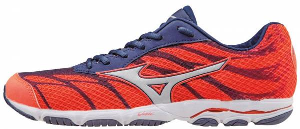 Mizuno Wave Hitogami 3 woman pink (fiery coral/glacier gray/blue depths)