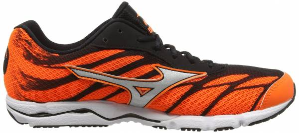 Mizuno Wave Hitogami 3 men orange (clownfish/silver/black)