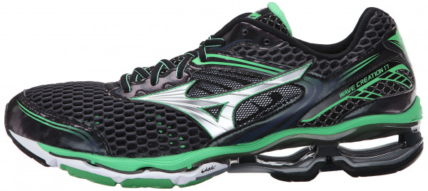 Mizuno Wave Creation 17 men ombre blue/silver/irish green
