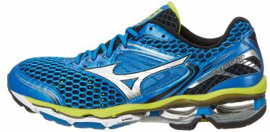 best authentic 72a68 e94f2 Mizuno Wave Creation 17 Electric Blue Lemonade Silver Men