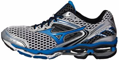 new arrival 3f5c3 fdc2f Mizuno Wave Creation 17 Silver Directoire Blue Men