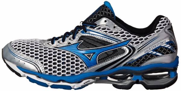 Mizuno Wave Creation 17 - Silver/Directoire Blue