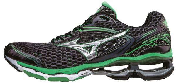 newest 4f2ea 7e582 Mizuno Wave Creation 17 Black (Ombreblue Silver Irishgreen)