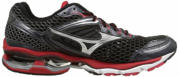 Mizuno Wave Creation 17 men dark shadow/silver/chinese red