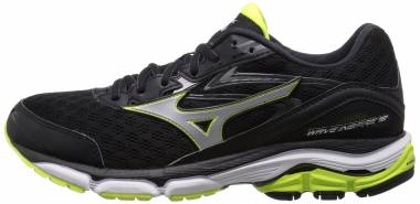 Mizuno Wave Inspire 12 Black/Silver Men