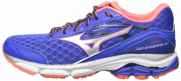 Mizuno Wave Inspire 12 woman blue (dazzling blue/silver/fiery coral)