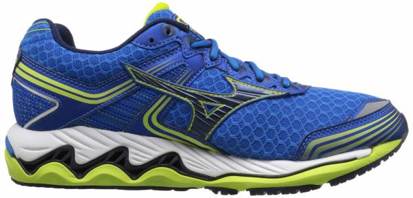 Mizuno Wave Paradox 2 men electric blue lemonade-dress blue