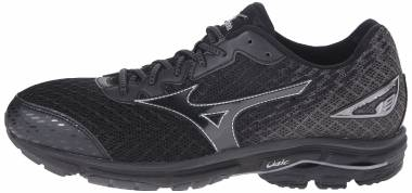 Mizuno Wave Rider 19 - Black/Dark Shadow (4107349098)