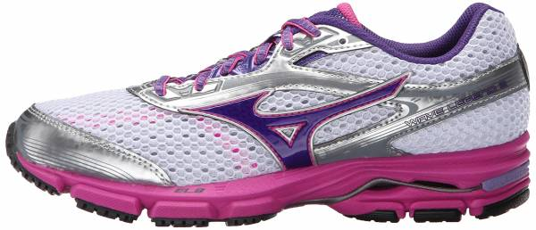 Mizuno Wave Legend 3 woman white gentian/violet