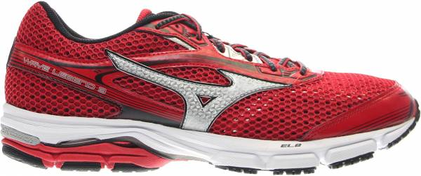 Mizuno Wave Legend 3 men shin red/silver/black