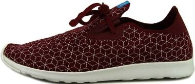 Native Apollo Moc - Cavalier Red / Shell White / Boxes (211024068124)