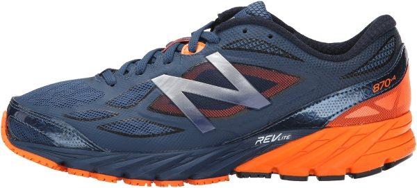 New Balance 870 v4 men grey/orange