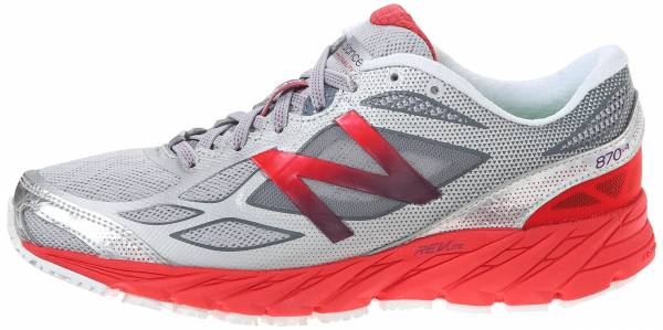 New Balance 870 v4 woman white/red