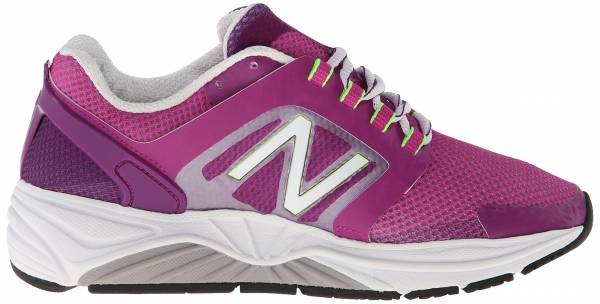 New Balance 3040 woman purple/white/green