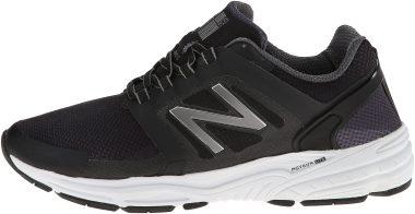 New Balance 3040 - Black, White/Silver/Blue
