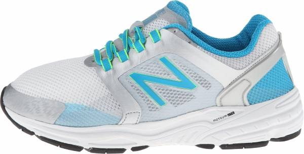 New Balance 3040 woman silver/blue infinity