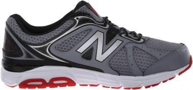 New Balance 560 v6 - Grey/Black/Red
