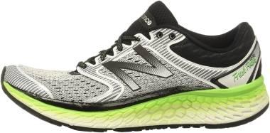 New Balance Fresh Foam 1080 v7 - Weiß Neongrün (M1080WB7)