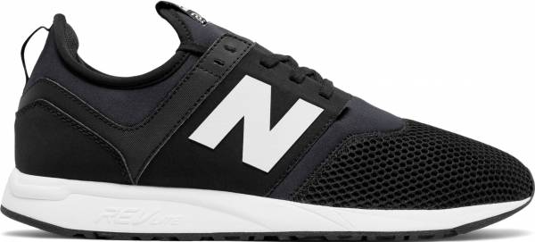 new balance 247 black white