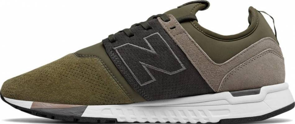 New Balance 247 Luxe sneakers in green (only $54) | RunRepeat
