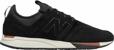 New Balance 247 Luxe - Black (MRL247WU)